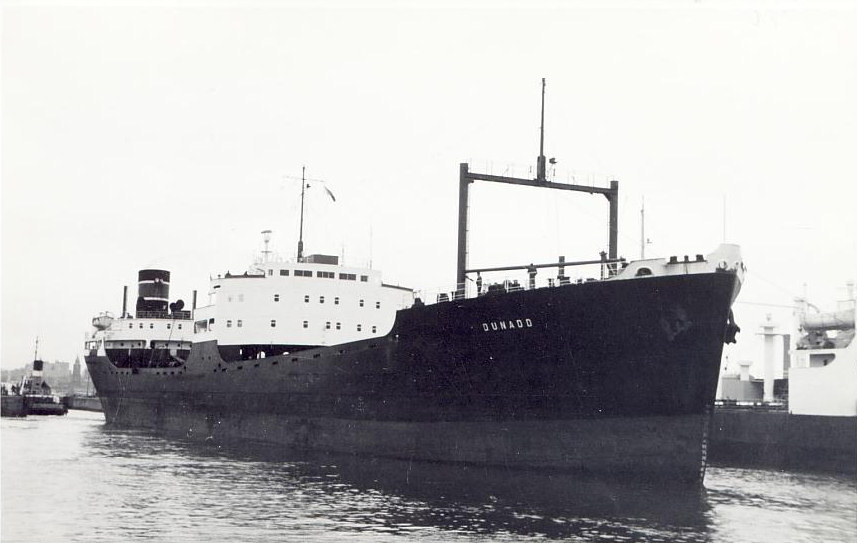 Motor vessel dunadd built by lithgows ltd in 1955 for st for Motor cargo freight company