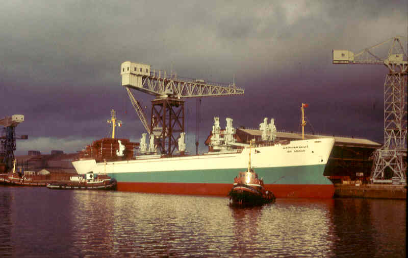Motor vessel ibn abdoun built by scotstoun marine ltd in for Motor cargo freight company